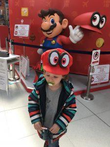 Super Mario heißt uns in Japan willkommen